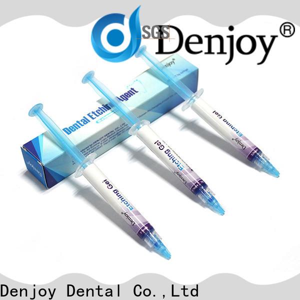 Denjoy etching dental etching gel company for dentist clinic