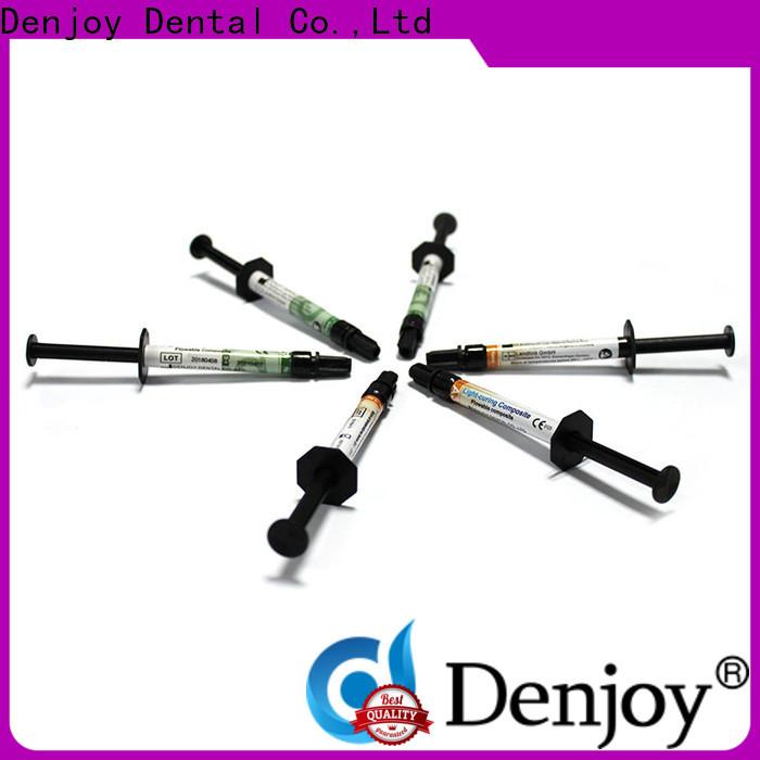 Custom dental composite resin flowable Supply for dentist clinic