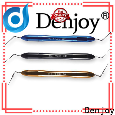 Denjoy Latest step on plugger Suppliers for dentist clinic