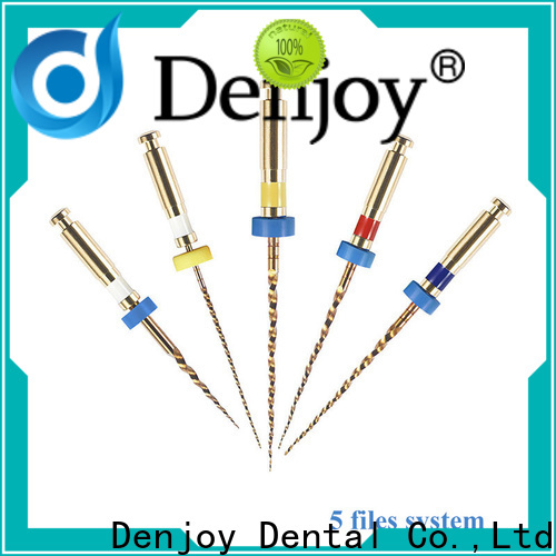 Denjoy endodontic rotary file systems Suppliers for hospital