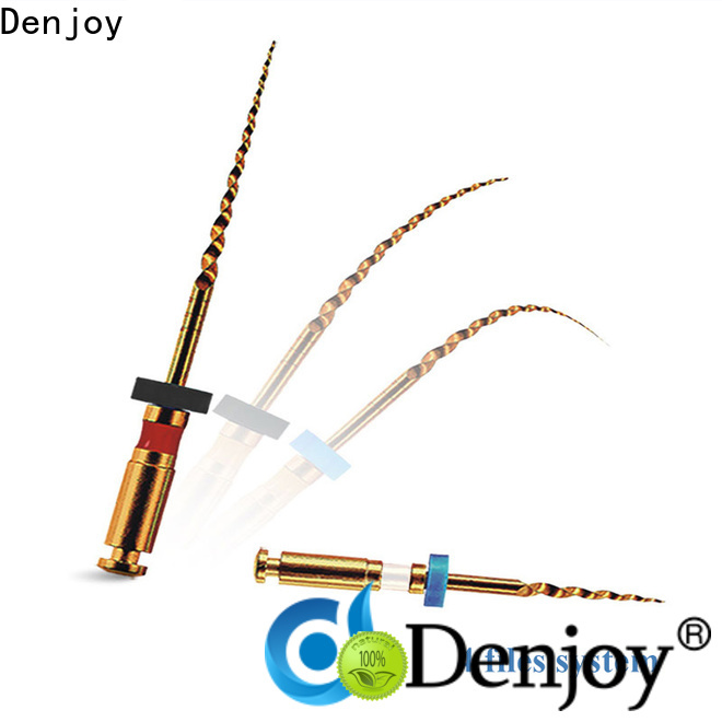 Denjoy New endodontic instruments factory for dentist clinic