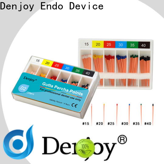 Denjoy Wholesale Gutta percha point manufacturers for hospital