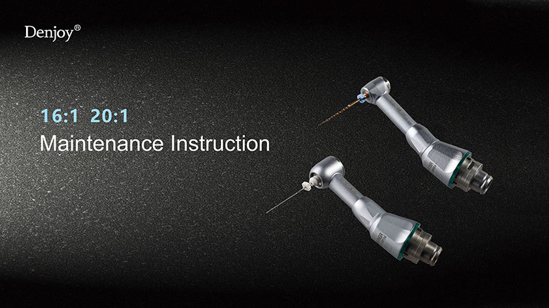Maintenance Instruction For Contra-angle Of Endo Motor
