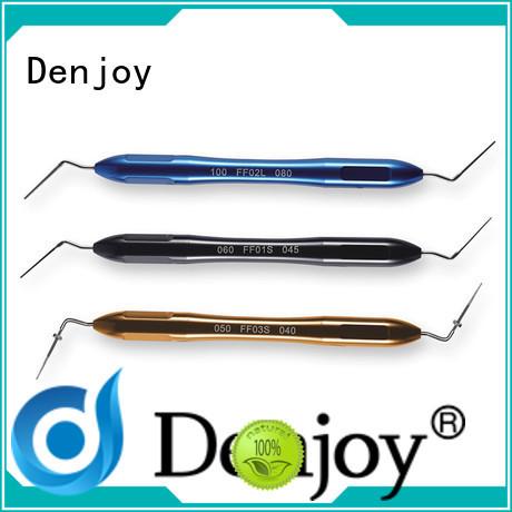 Denjoy obturation comdense plugger company for dentist clinic