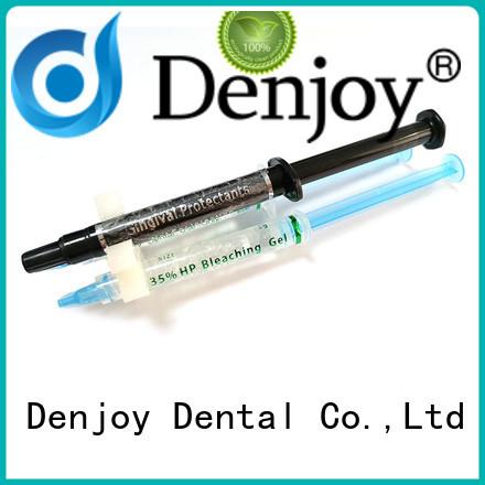 Denjoy tooth bleaching gel manufacturers for dentist clinic