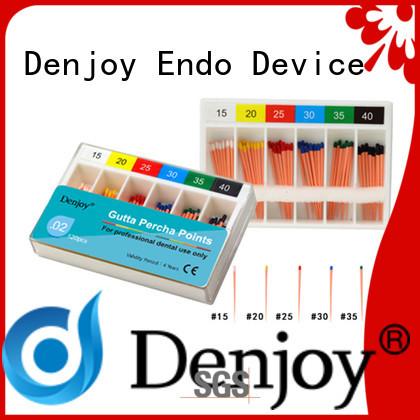 Denjoy fill Gutta percha point for dentist clinic
