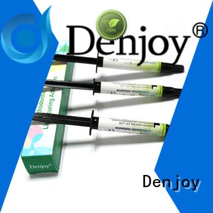 Denjoy Custom ortho adhesive for dentist clinic