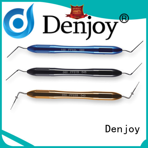 Denjoy hand endodontic plugger for dentist clinic
