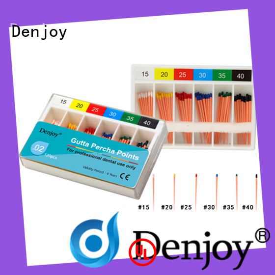 Denjoy Best Gutta percha point manufacturers for hospital
