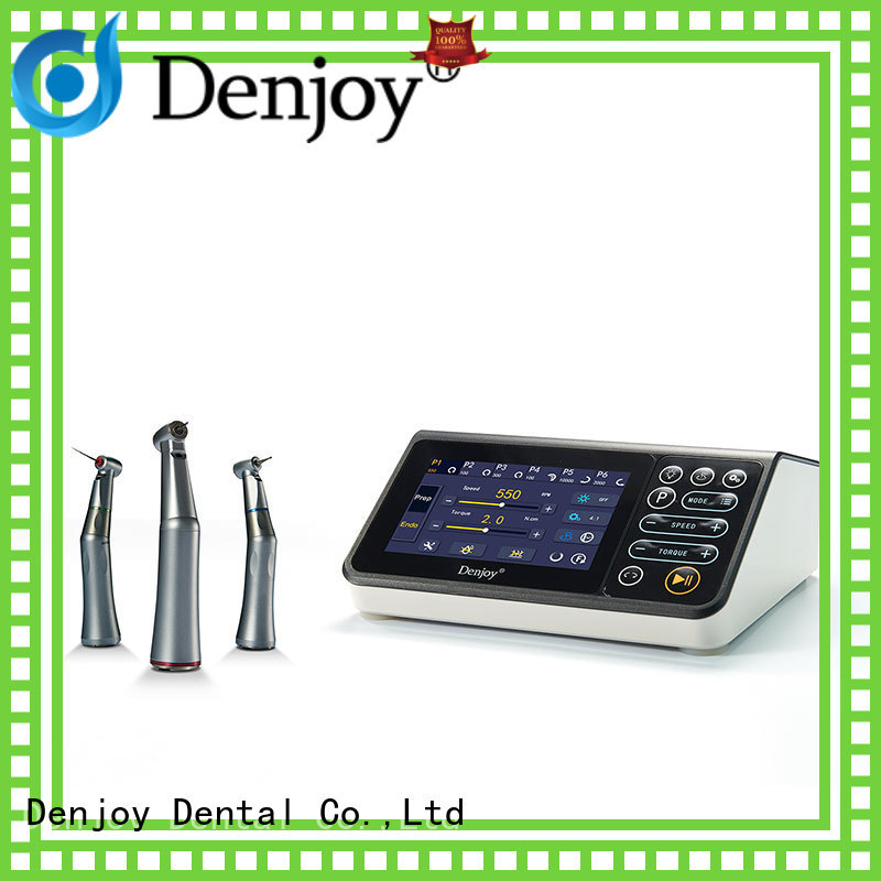 Denjoy brushless Electric motor Supply for dentist clinic