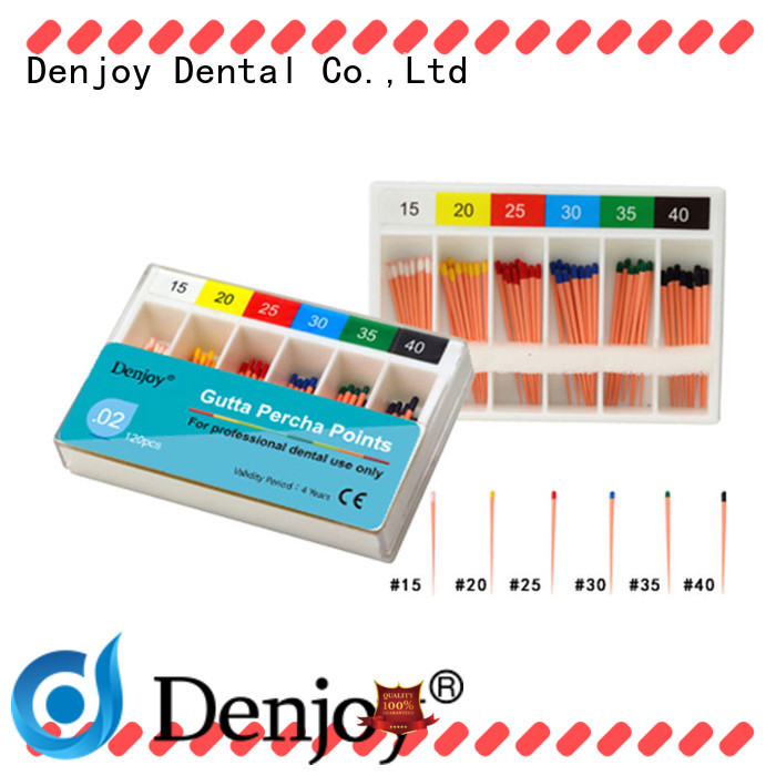 Denjoy gutta Gutta percha point Supply for dentist clinic