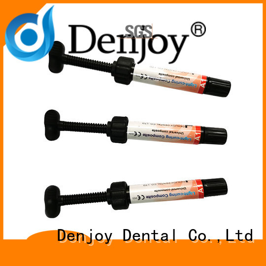 Custom dental composite resin shade factory for hospital