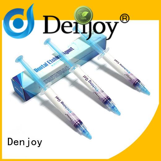 Denjoy tooth dental etching gel manufacturers for hospital