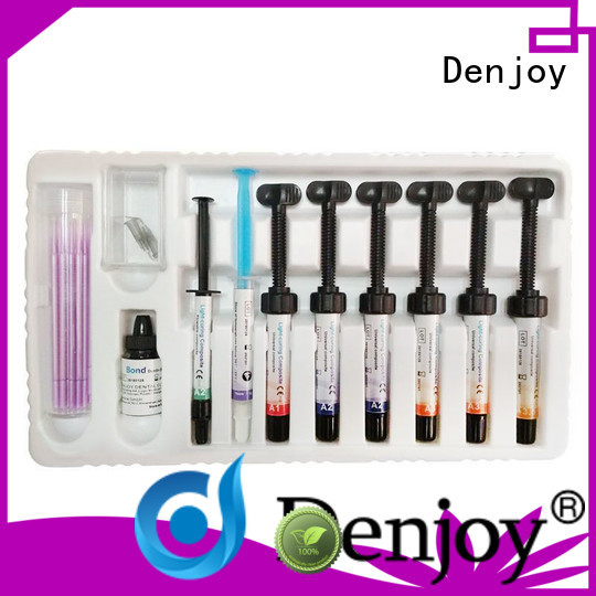 Denjoy biological dental resin kit manufacturers for hospital