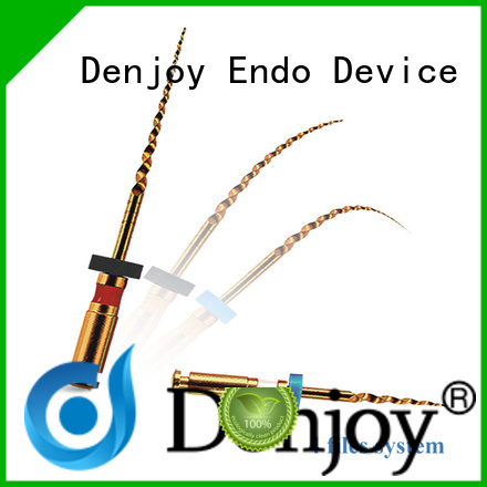 Denjoy gold endodontic files types manufacturers for dentist clinic
