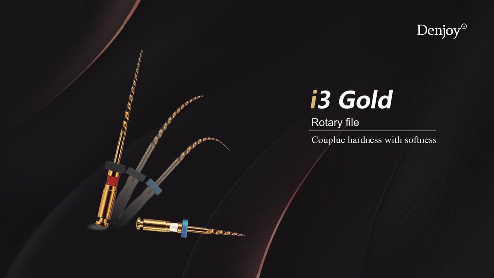 i3 gold Niti rotary file operation step
