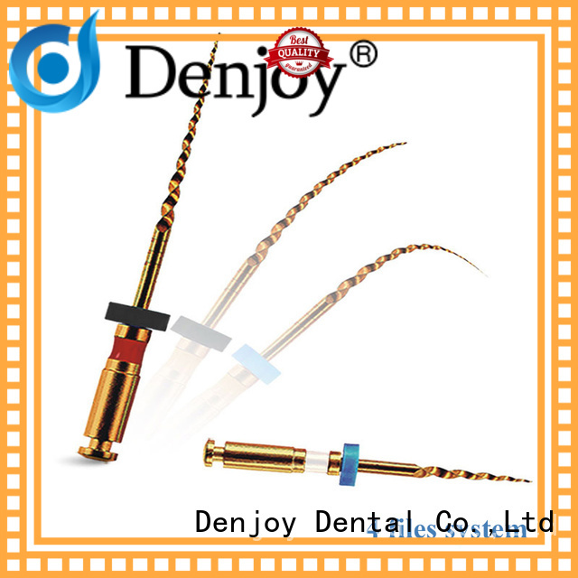 Denjoy New niti rotary file company for dentist clinic